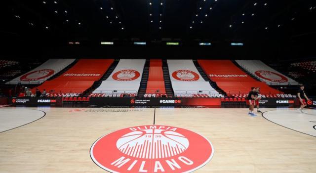 Basket: Olimpia Milano-Olympiacos di Eurolega 2020 confermata al Forum. Greci a rischio quarantena al ritorno in patria