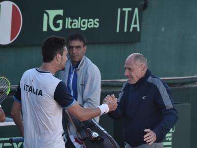 """Coppa Davis 2020, Gianluca Mager: """"Ero teso per l'esordio, dedico la vittoria a chi sta soffrendo"""""""