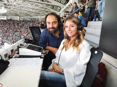 FOTO Francesca Fantuzzi, chi è la fidanzata di Domenico Berardi: una bionda con delle curve da sogno