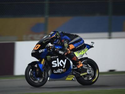 Moto2, risultati FP2 GP Spagna 2020: Luca Marini chiude in vetta davanti a Bezzecchi, 8° Bastianini