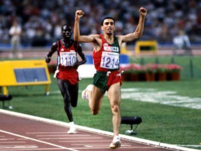Olimpiadi. Khalid Skah e l'oro ad elastico nei 10.000 a Barcellona 1992