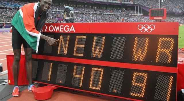 Atletica, i record del mondo: 1'40″91, il primato di David Rudisha negli 800 metri a Londra 2012 – VIDEO