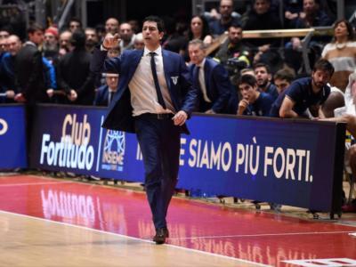 Basket, Antimo Martino è il nuovo allenatore di Reggio Emilia: accordo fino al 2023