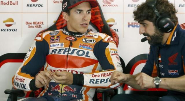 """MotoGP, Marc Marquez: """"L'obiettivo era la prima fila, ho un grande passo per la gara"""""""