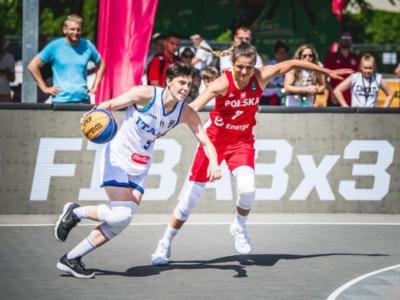 Basket 3×3 femminile, Preolimpico Graz: il calendario delle partite dell'Italia. Orari, tv, streaming