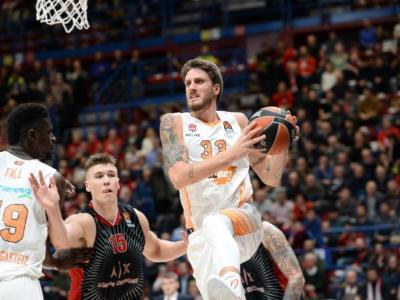 """Basket, Achille Polonara: """"Scegliere l'Eurolega è stata una nuova sfida. Oggi ho più fiducia da parte del club"""""""
