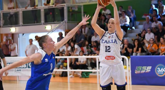 """Laura Spreafico, basket femminile: """"Torno a Lucca con più consapevolezza. A Broni gli anni della rinascita. Con la Nazionale due rette parallele"""""""