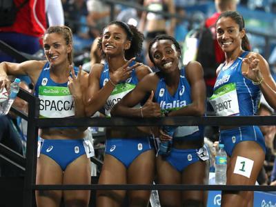 Atletica, migliorano i piazzamenti di alcuni azzurri alle Olimpiadi 2012 e 2016: Rigaudo e 4×400 quinti