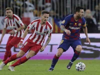 Barcellona-Atletico Madrid in tv oggi: orario, probabili formazioni, streaming, programma