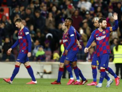 Calcio, positivo al Coronavirus un calciatore del Barcellona: è asintomatico