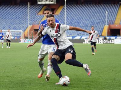 Highlights Sampdoria-Bologna 1-2: video, gol e sintesi. Barrow e Orsolini aprono le danze, Bonazzoli illude