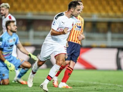 VIDEO Lecce-Milan 1-4: highlights, gol e sintesi. Poker dei rossoneri al Via del Mare