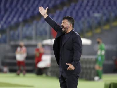 """Finale Coppa Italia 2020, Gennaro Gattuso: """"Il Dio del calcio ci ha dato quel che avevamo seminato"""""""