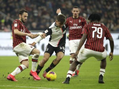 Probabili formazioni Juventus-Milan Coppa Italia: bianconeri con il tridente leggero, Pioli sceglie Calhanoglu e Rebic