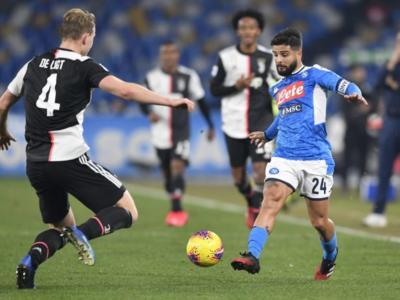 Napoli-Juventus stasera in tv: probabili formazioni Coppa Italia, assenti per infortunio, squalificati, orario d'inizio