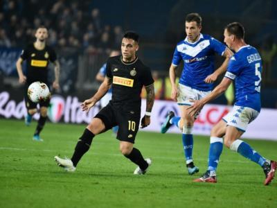 LIVE Inter-Brescia 6-0, Serie A calcio in DIRETTA: non c'è partita a San Siro con i nerazzurri che dominano dal primo all'ultimo. Pagelle e highlights