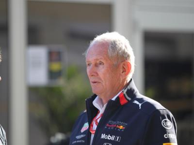 """F1, Helmut Marko: """"Hamilton? Sembrava volesse spingere Perez direttamente in pit lane"""""""
