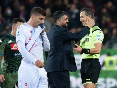 Napoli-Juventus, chi è l'arbitro della Finale di Coppa Italia: i precedenti con le due squadre