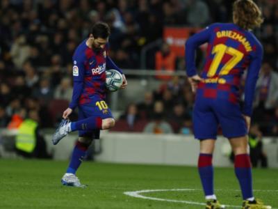 LIVE Barcellona-Atletico Madrid 2-2, Liga in DIRETTA: catalani fermati in casa dai Colchoneros, titolo sempre più vicino per il Real