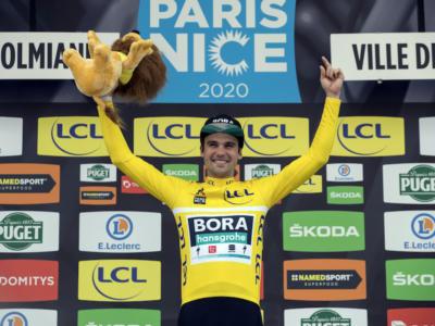 """Ciclismo, Schachmann in scadenza con la Bora-Hansgrohe: """"Sono in contatto con diversi team. Adesso voglio correre, poi valuterò"""""""