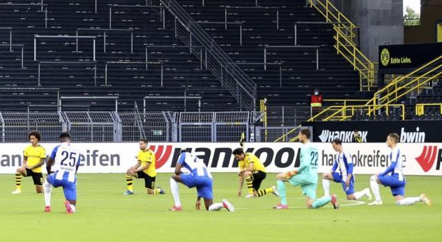 Bundesliga 2020, Borussia Dortmund-Hertha Berlino 1-0: Emre Can regala i tre punti ai gialloneri, sempre più secondi