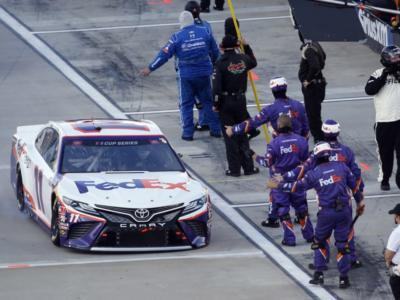 NASCAR Cup Series, Denny Hamlin sigla il successo a Pocono!