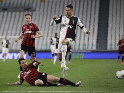 Juventus-Milan 0-0, Coppa Italia 2020: bianconeri in Finale! Cristiano Ronaldo sbaglia un rigore