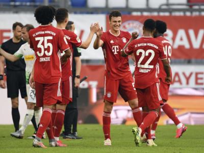 Bundesliga 2020, il Bayern Monaco vince lo scudetto: 30° Maiesterschale, 1-0 al Werder. Successi per 'Gladbach e Friburgo