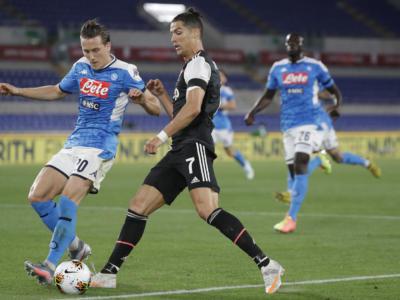 Pagelle Napoli-Juventus 4-2 d.c.r, voti finale Coppa Italia 2020. Milik firma il trofeo dal dischetto, non bastano i miracoli di Buffon