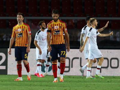 Calcio, Serie A 2020: poker del Milan contro il Lecce, Fiorentina in dieci bloccata dal Brescia