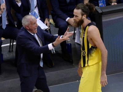 """Basket, Zeljko Obradovic lascia la panchina del Fenerbahce: """"È stato un grande onore far parte di questo club"""""""