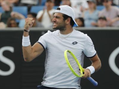 Tennis, UTS 2020: Matteo Berrettini domina contro Benoit Paire e ottiene la terza vittoria