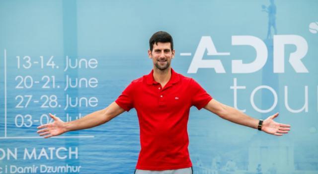 Adria Tour 2020: i favoriti. Novak Djokovic sopra tutti, Thiem e Zverev per lo sgambetto. Croati in agguato