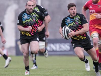 Rugby, Pro 14: Zebre, Marcello Violi batte il maratoneta El Fathaoui nella corsa
