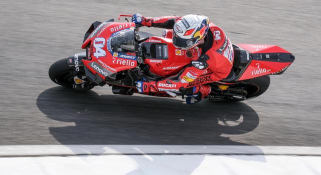 """MotoGP, Andrea Dovizioso: """"Il mio feeling con la moto è buono, sto migliorando e mi sento a mio agio in frenata"""""""