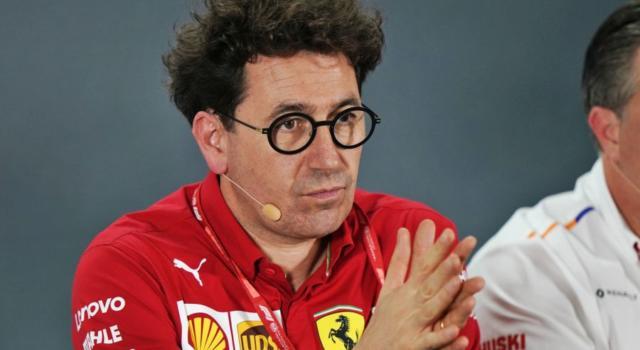 """F1, Mattia Binotto: """"Grande felicità per il successo di Mick Schumacher e della FDA. La presenza di Alonso nei test? Non siamo d'accordo"""""""