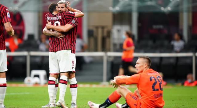 VIDEO Milan-Bologna 5-1: highlights, gol e sintesi. Cinquina rossonera a San Siro, affondati i felsinei