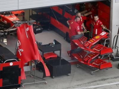F1, GP Stiria 2020: la Ferrari anticipa una parte del pacchetto aerodinamico di Budapest. C'è un nuovo fondo