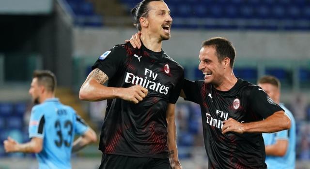 Calcio, Serie A 2020: Lazio-Milan 0-3, i rossoneri affossano i biancocelesti, ora a -7 dalla Juventus