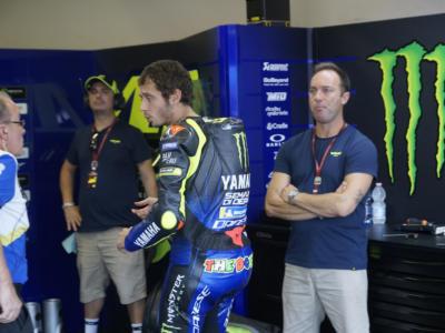 """MotoGP, Valentino Rossi: """"Yamaha è stata la squadra della mia vita. Oggi ho avuto un buon passo"""""""