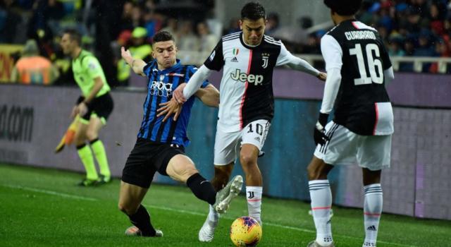 LIVE Juventus-Atalanta 2-2, Serie A calcio in DIRETTA: i bianconeri recuperano due volte gli orobici su calcio di rigore. Pagelle e highlights
