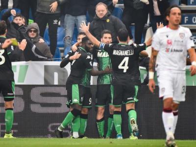 LIVE Cagliari-Sassuolo 1-1, Serie A calcio in DIRETTA: pareggio che fa male ai ragazzi di De Zerbi! Pagelle e highlights