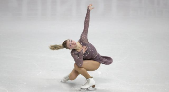 Pattinaggio artistico, Amber Glenn punta in alto: ecco il triplo axel