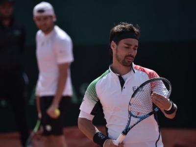 Tennis: Fabio Fognini si allena a Maglie in vista del ritorno sul tour