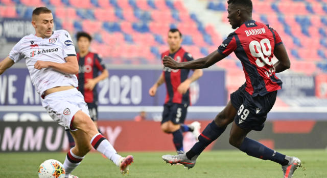 VIDEO Bologna-Cagliari 1-1: highlights, gol e sintesi. Simeone risponde a Barrow