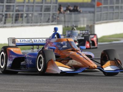 IndyCar Series, Iowa: lo squadrone Penske cerca la vittoria