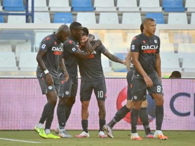 VIDEO SPAL-Udinese 0-3: highlights, gol e sintesi. Friulani vicini alla salvezza
