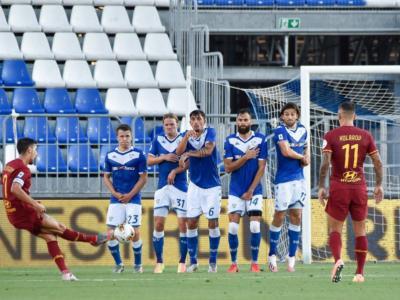 VIDEO Brescia-Roma 0-3: highlights, gol e sintesi. I capitolini si impongono nella ripresa