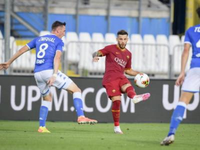Calcio, la Roma passa per 0-3 a Brescia nella 32ma giornata della Serie A 2020