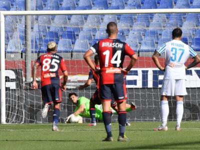 VIDEO Genoa-SPAL 2-0: highlights, gol e sintesi. Pandev e Schone regalano tre punti salvezza ai liguri